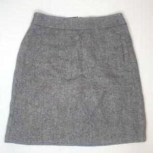 Banana Republic tweed wool skirt size 2 small